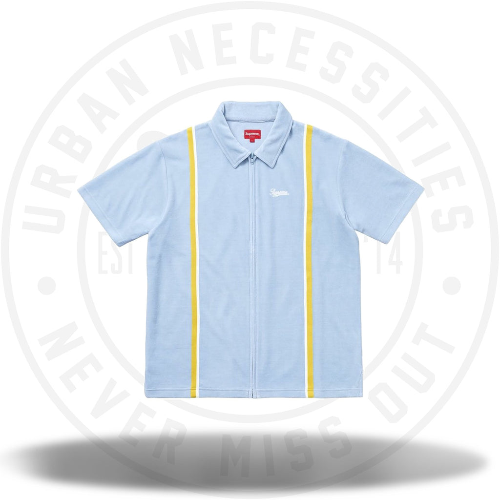 Supreme Velour Warm Up Light Blue-Urban Necessities