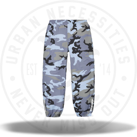 Supreme Warm Up Pant (SS18) Blue Camo-Urban Necessities