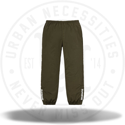 Supreme Warm Up Pant (SS18) Olive-Urban Necessities