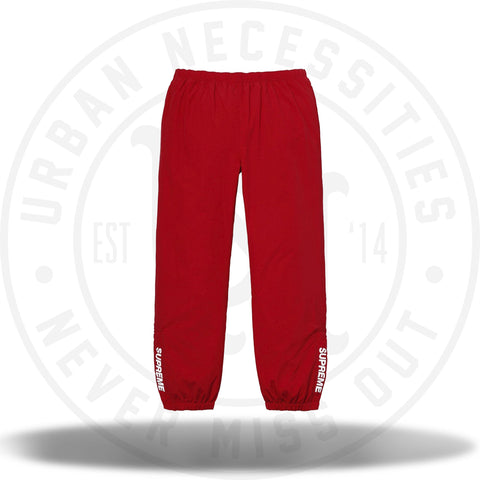 Supreme Warm Up Pant (SS18) Red-Urban Necessities