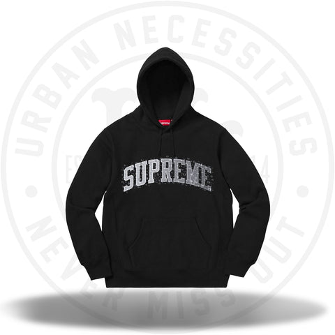 Supreme Water Arc Hooded Sweatshirt Black-Urban Necessities