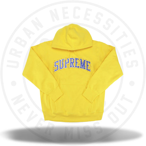 Supreme Water Arc Hooded Sweatshirt Yellow-Urban Necessities