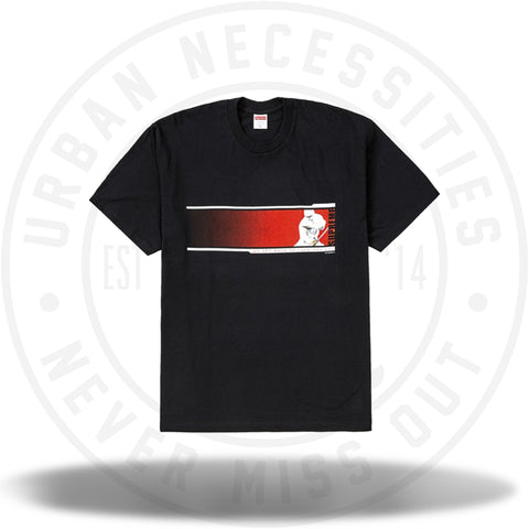 Supreme We're Back Tee Black-Urban Necessities