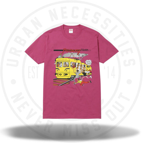 Supreme Wilfred Limonius Punany Train Tee Dark Pink-Urban Necessities