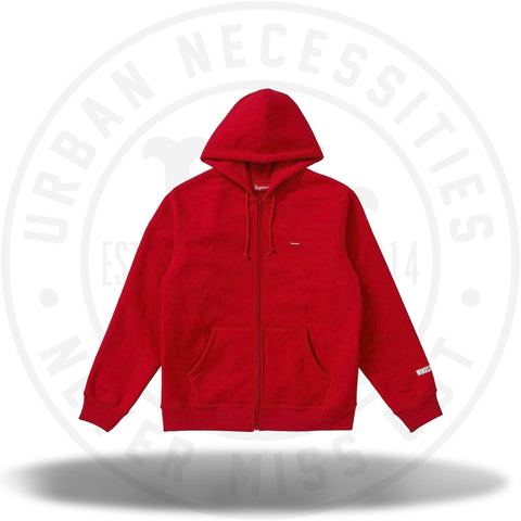 Supreme WINDSTOPPER Zip Up Hooded Sweatshirt Red-Urban Necessities