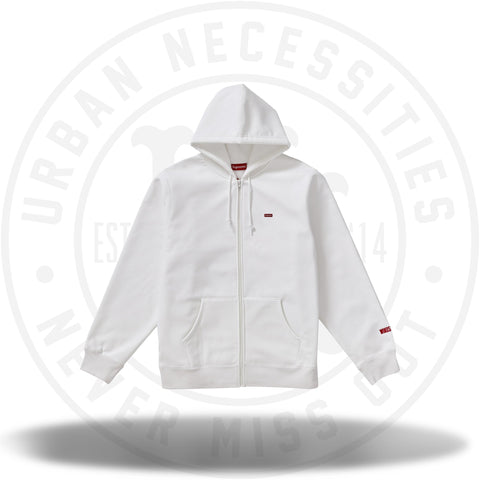 Supreme WINDSTOPPER Zip Up Hooded Sweatshirt White-Urban Necessities