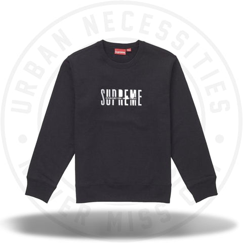 Supreme World Famous Crewneck Black-Urban Necessities