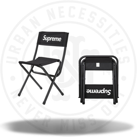 Supreme x Coleman Folding Chair Black-Urban Necessities