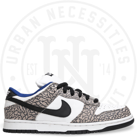 Supreme x Dunk Low Pro SB 'White Cement' - 304292 001-Urban Necessities