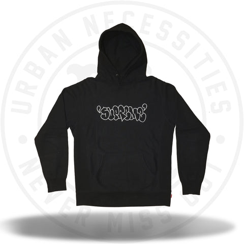 Supreme x JA Graffiti Hoodie 2009 Black-Urban Necessities