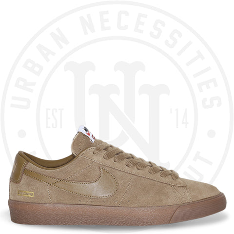 Supreme x SB Blazer Low GT 'Golden Beige' - 716890 229-Urban Necessities