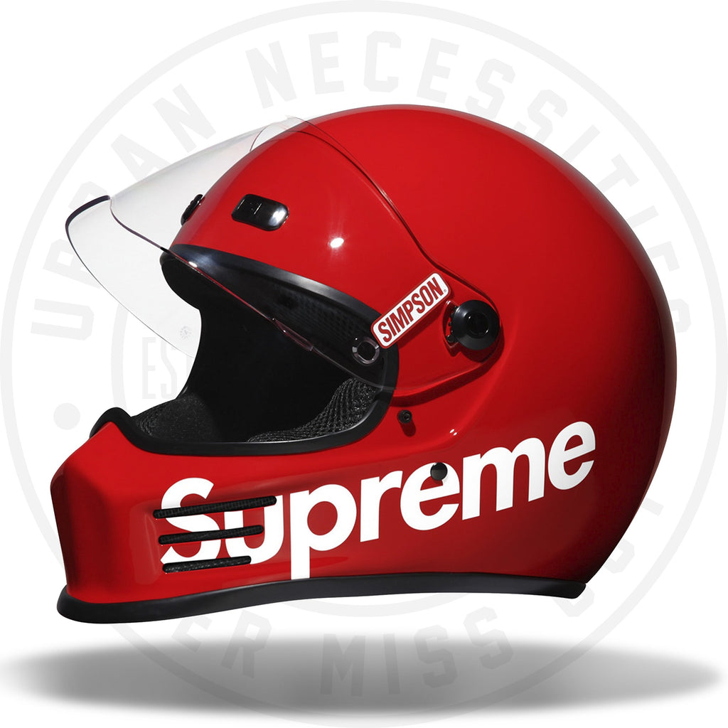 Supreme X Simpson Helmet Red-Urban Necessities
