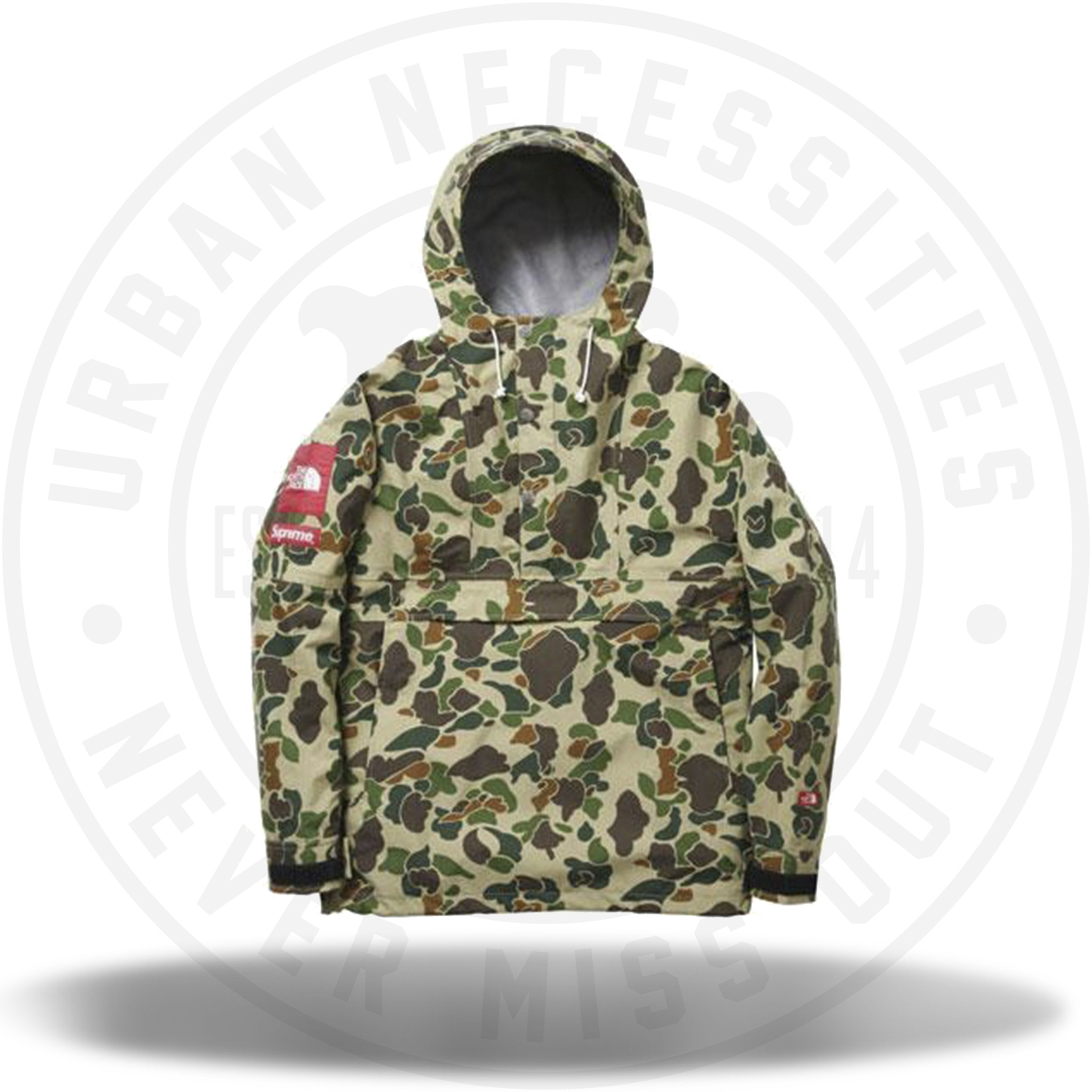 Supreme x The North Face Expedition Pullover Duck Camo SS10