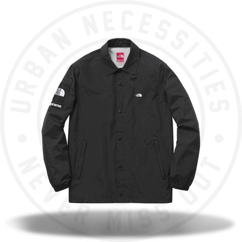 Supreme x The North Face Packable Coaches Jacket Black-Urban Necessities