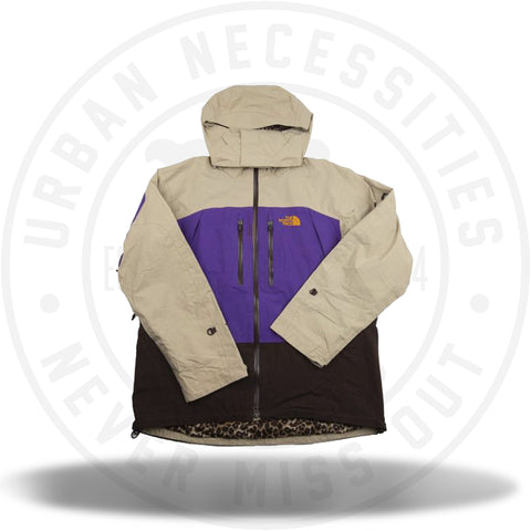 Supreme x The North Face Summit Jacket Tan/Purple FW 07-Urban Necessities