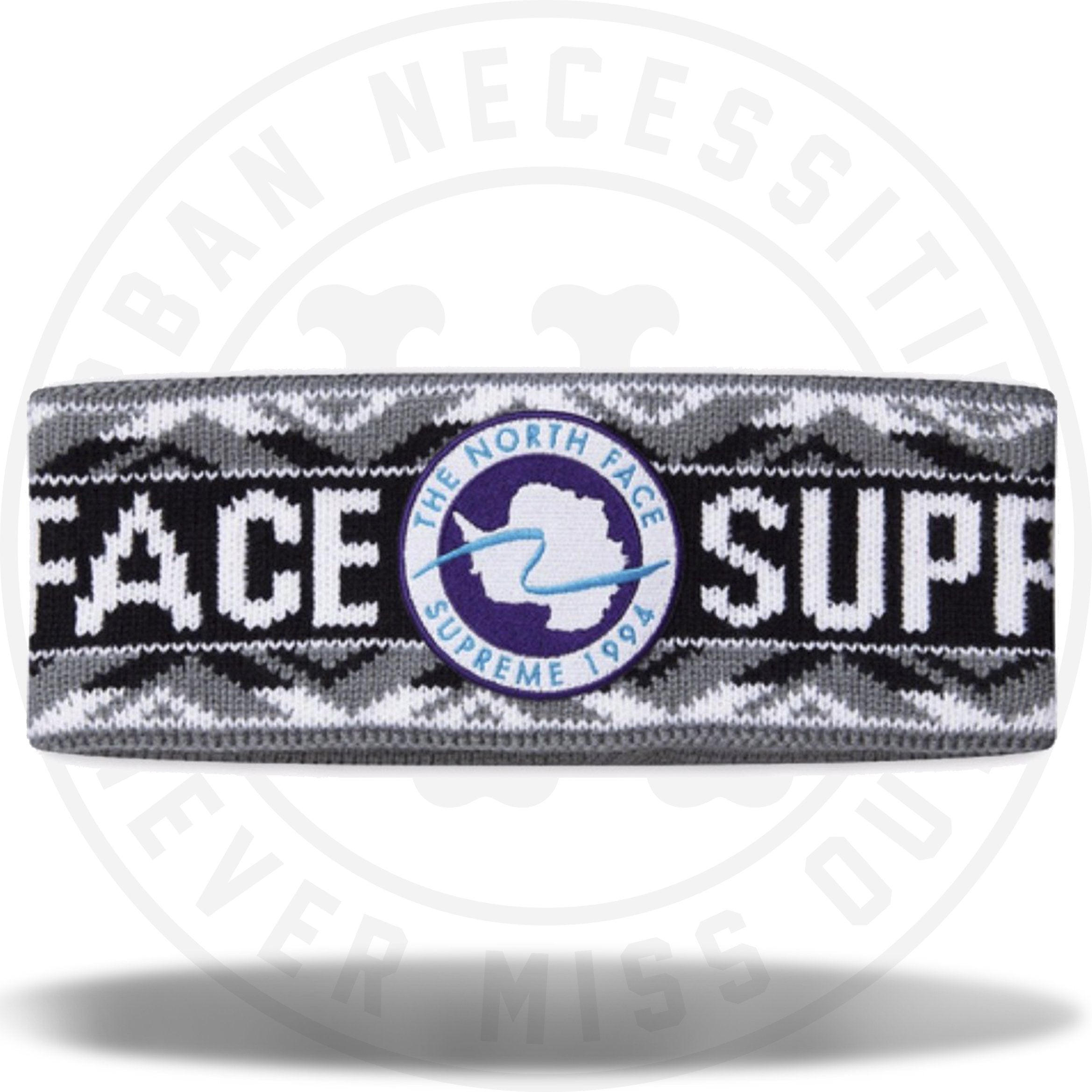 Supreme X The North Face Trans Antarctica Expedition Headband Black