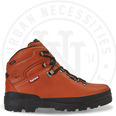 Supreme x Timberland World Hiker Front Country Boot Orange-Urban Necessities