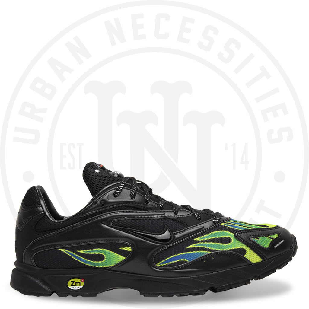 Supreme x Zoom Streak Spectrum Plus 'Black' - AQ1279 001-Urban Necessities