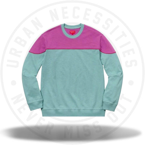 Supreme Yoke Piping L/S Top Sage-Urban Necessities
