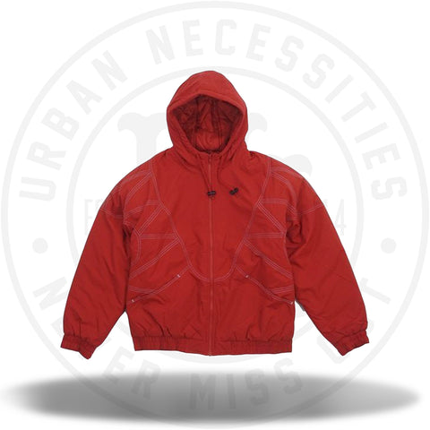 Supreme Zig Zag Stitch Puffy Jacket Red-Urban Necessities