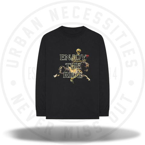 Travis Scott Astroworld 'Enjoy The Ride' L/S Shirt-Urban Necessities