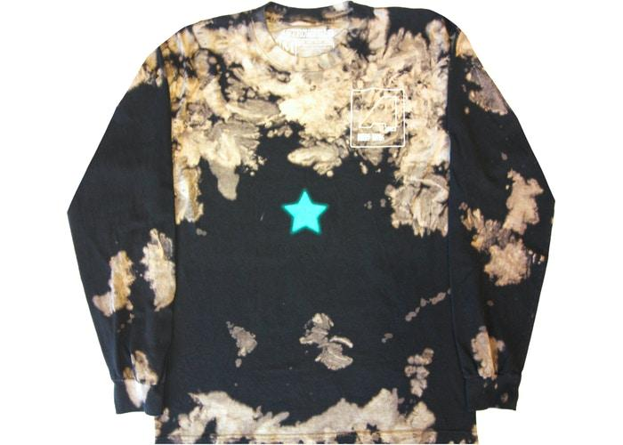 Travis Scott Astroworld Shattered Face L/S Tee Tie Dye-Urban Necessities