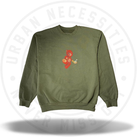 Travis Scott Astroworld x NYC Bear Crewneck-Urban Necessities