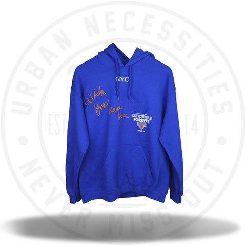 Travis Scott Astroworld x NYC New York Knicks Hoodie-Urban Necessities