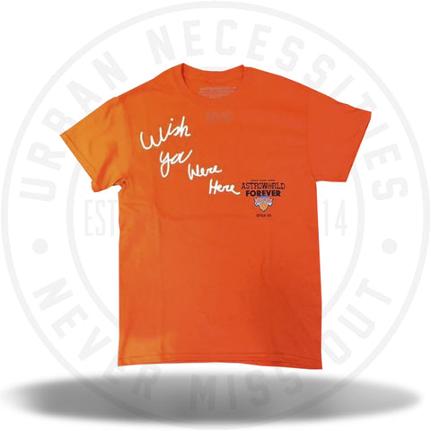 Travis Scott Astroworld x NYC New York Knicks Tee-Urban Necessities