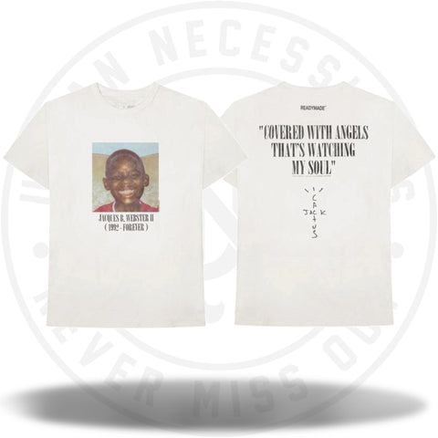 Travis Scott Cactus Jack x Readymade Tee White-Urban Necessities