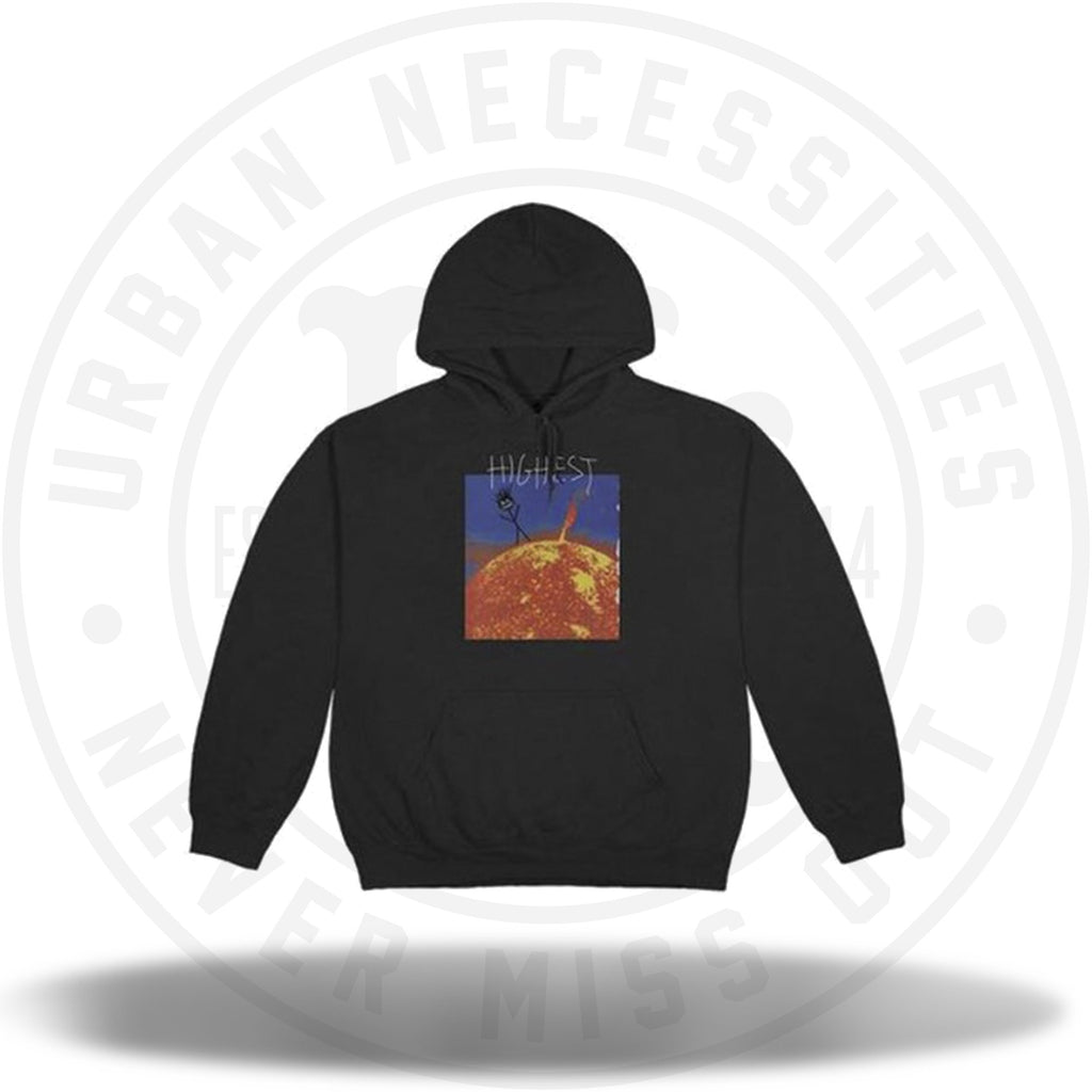 Travis Scott Highest In The Room Sun Hoodie Black-Urban Necessities