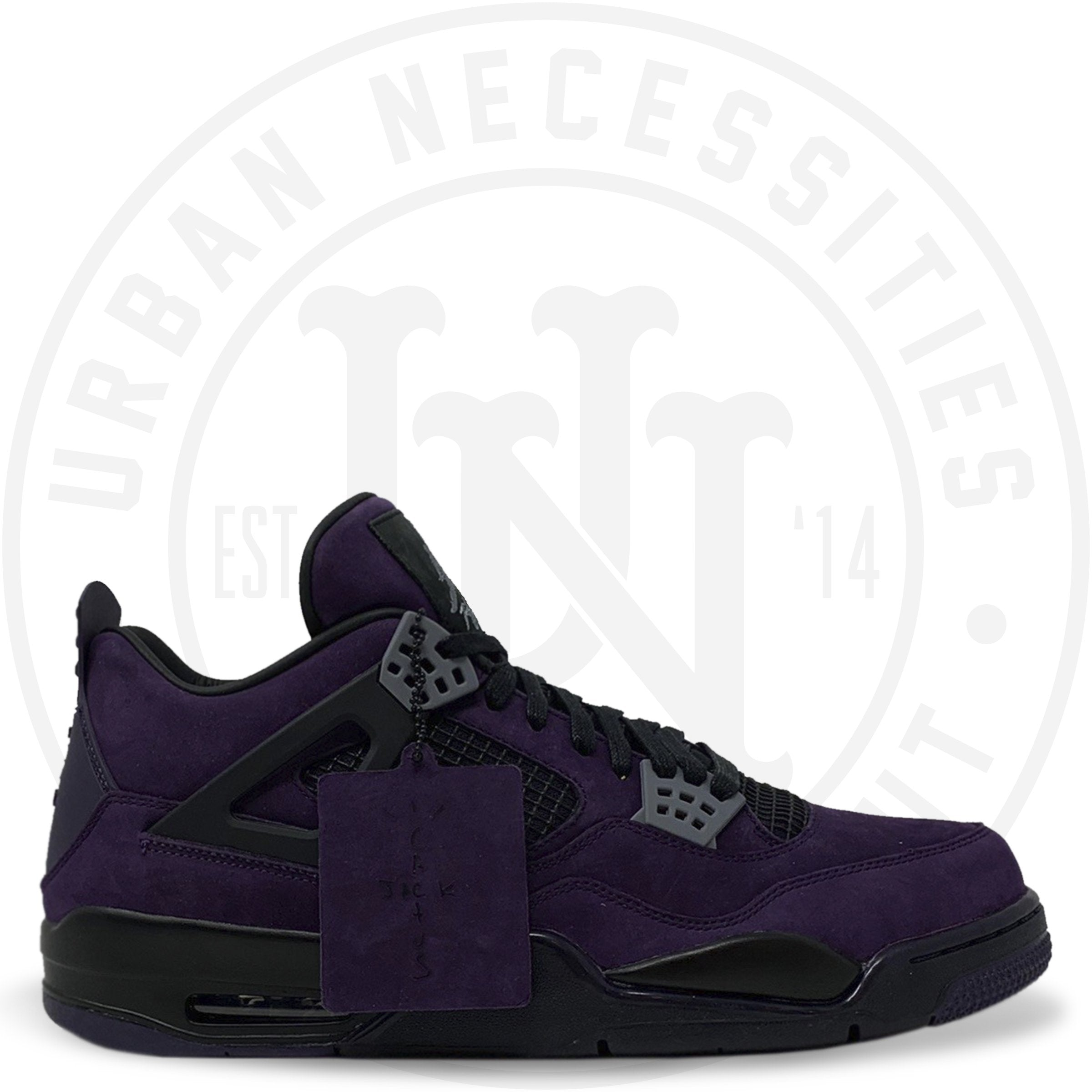 low cost ba12b 00a3a Travis Scott x Air Jordan 4 Retro 'Purple Dynasty V/Red Black' AJ4-7766041