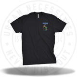 Two Js Kicks Dallas Sneakercon Tee Black-Urban Necessities