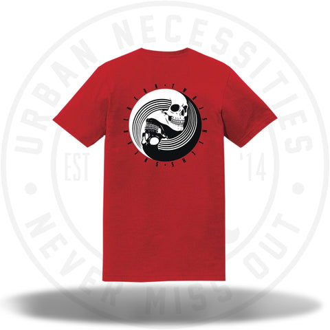 Two Js Kicks Guangzhou China Sneakercon Tee Red-Urban Necessities