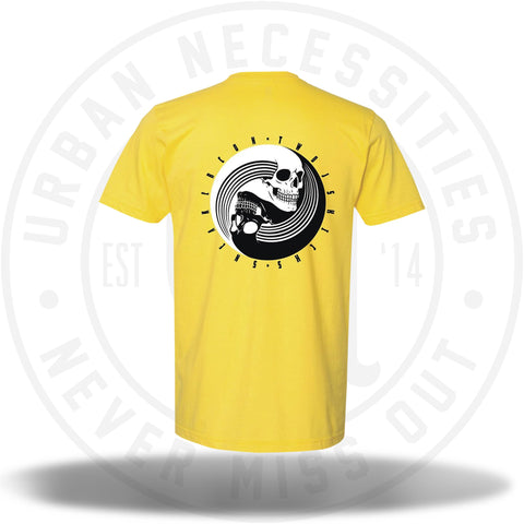 Two Js Kicks Guangzhou China Sneakercon Tee Yellow-Urban Necessities
