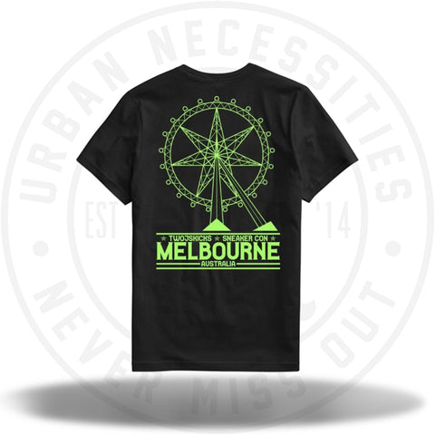Two Js Kicks Melbourne Sneakercon Tee-Urban Necessities