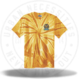 Two Js Kicks Tie Dye Shirt - Yellow-Urban Necessities