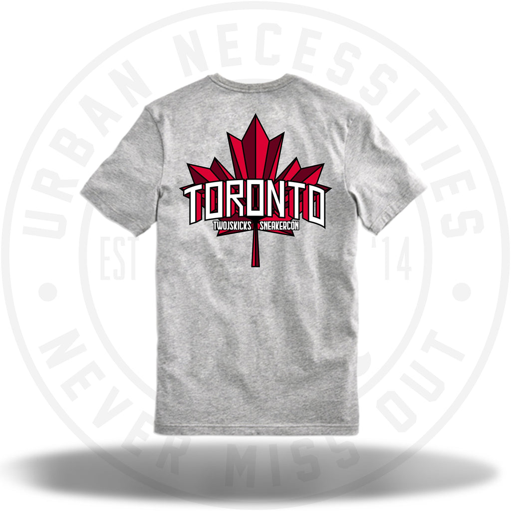 Two Js Kicks Toronto Sneakercon Tee-Urban Necessities