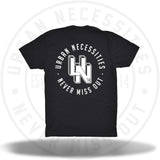UN 3D Stamp Tee Black/White-Urban Necessities