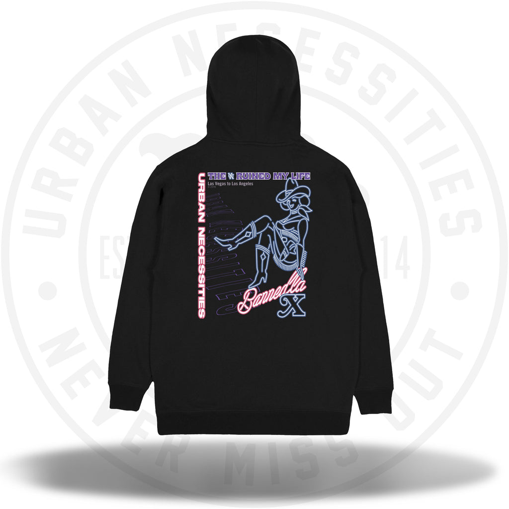UN Black Friday - BannedLA x UN Hoodie Black-Urban Necessities