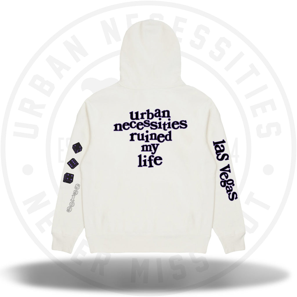 UN Black Friday - BannedLA x UN Hoodie Bone White-Urban Necessities