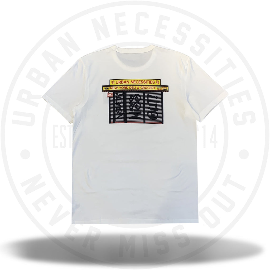 UN Deli Tee White-Urban Necessities