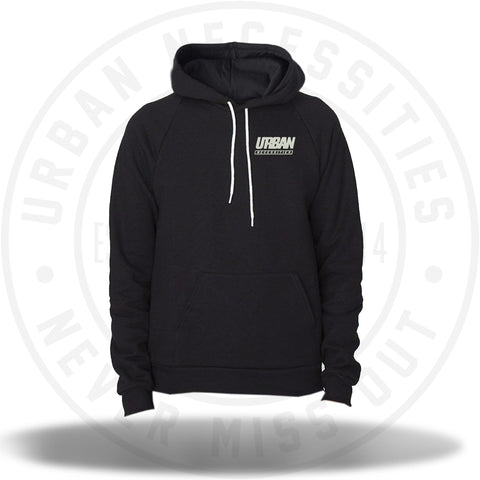 UN Embroidered Hoodie Black-Urban Necessities