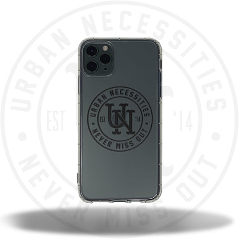 UN iPhone Case (7 - 11 Pro Max) Clear/Black-Urban Necessities