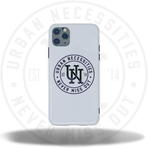 UN iPhone Case (7 - 11 Pro Max) White/Black-Urban Necessities