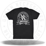 UN Stamp 5 Year Anniversary Tee-Urban Necessities