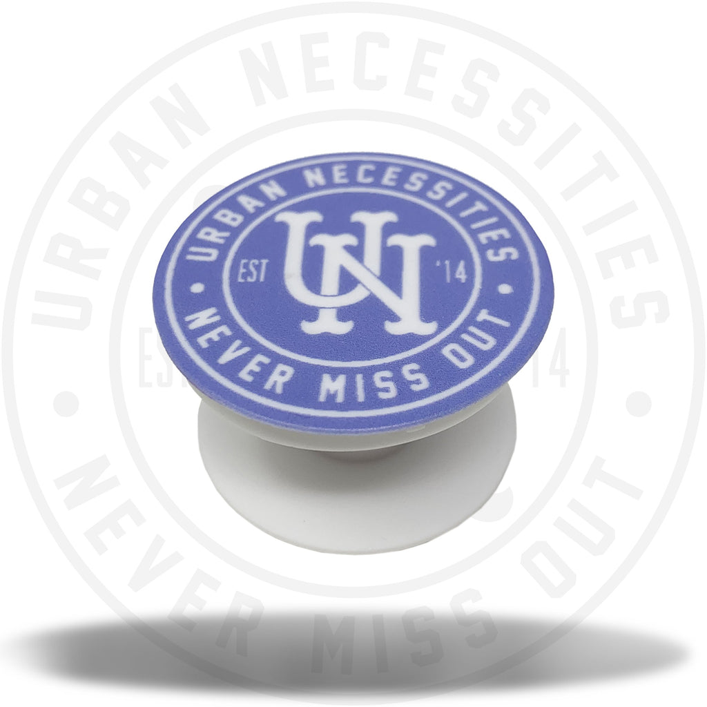 UN Stamp Pop Socket (White/Blue)-Urban Necessities