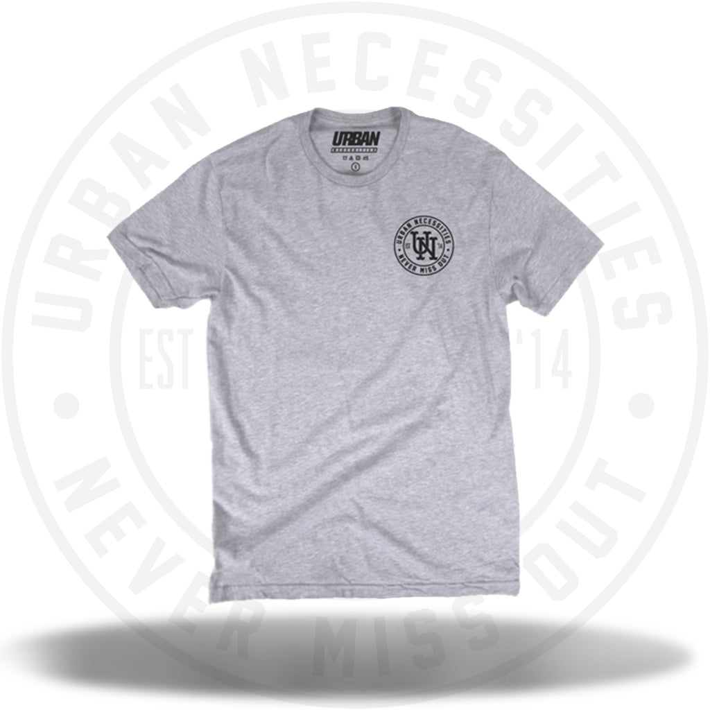 UN Stamp Tee Grey/Black-Urban Necessities