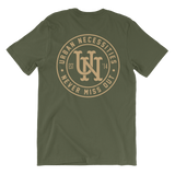 UN Stamp Tee Military Green/Sand-Urban Necessities