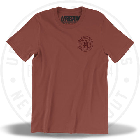 UN Stamp Tee Rust/Ox Blood-Urban Necessities